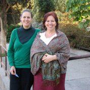 אני יחד עם נוגה גזית בקורס תטא במענית 2008