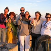 תטא הילינג במצפה רמון אפריל 2010